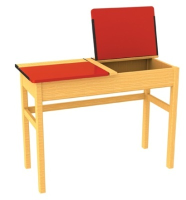 Locker Desk (Red)