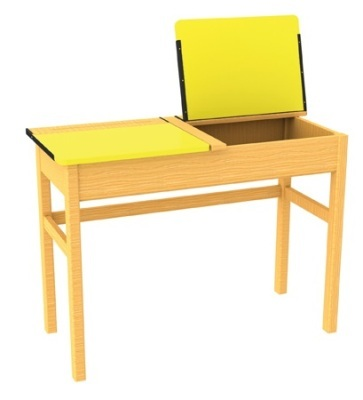 Locker Desk (Yellow)
