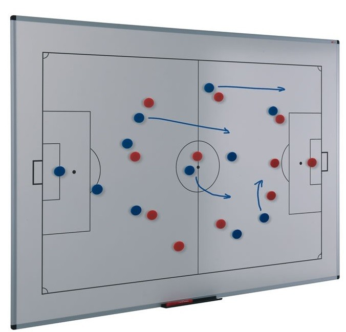 An image of Tactical Sports Whiteboard - Printed Whiteboards