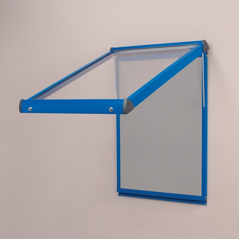 An image of Shield Fire Resistant Lockable Showcase - Lockable Noticeboards