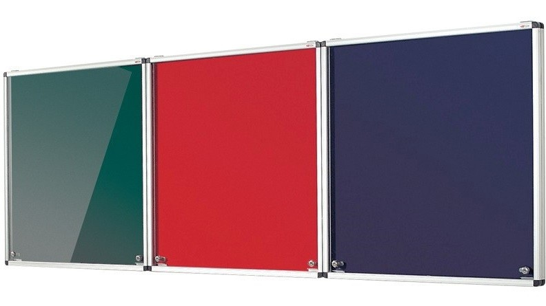 An image of Tamperproof Fire Resistant Corridor Noticeboard - Lockable Noticeb...