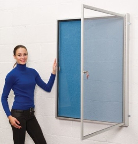 An image of SW Outdoor Lockable Noticeboards - Outdoor Noticeboards