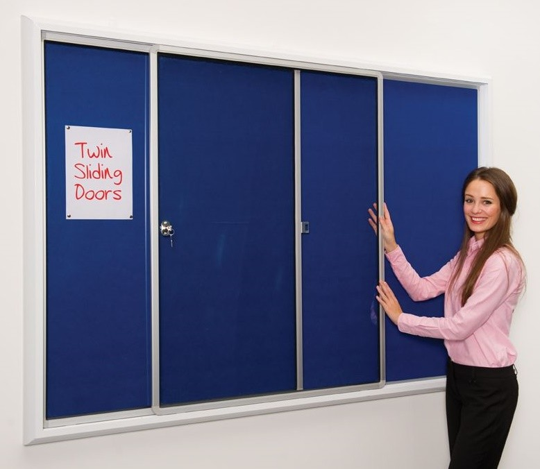 An image of PV Safety Lockable Noticeboards - Lockable Noticeboards