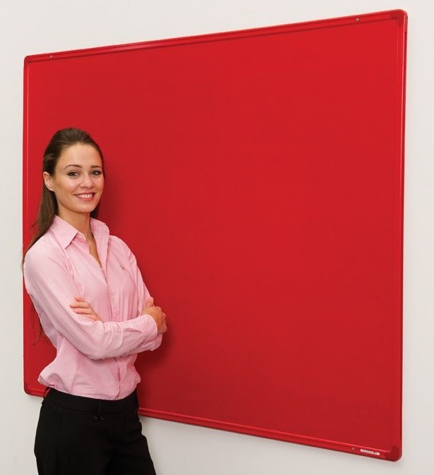 An image of Flambord Coloured Frame Noticeboard - Fire Retardant Noticeboards