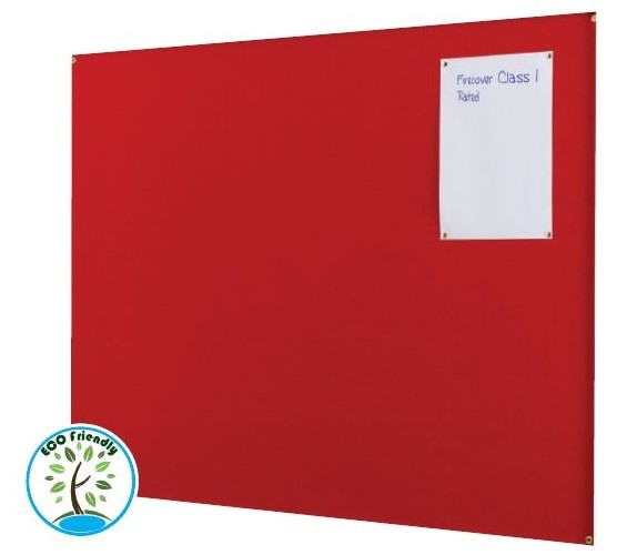 An image of Firecover Unframed Noticeboards - Fire Retardant Noticeboards