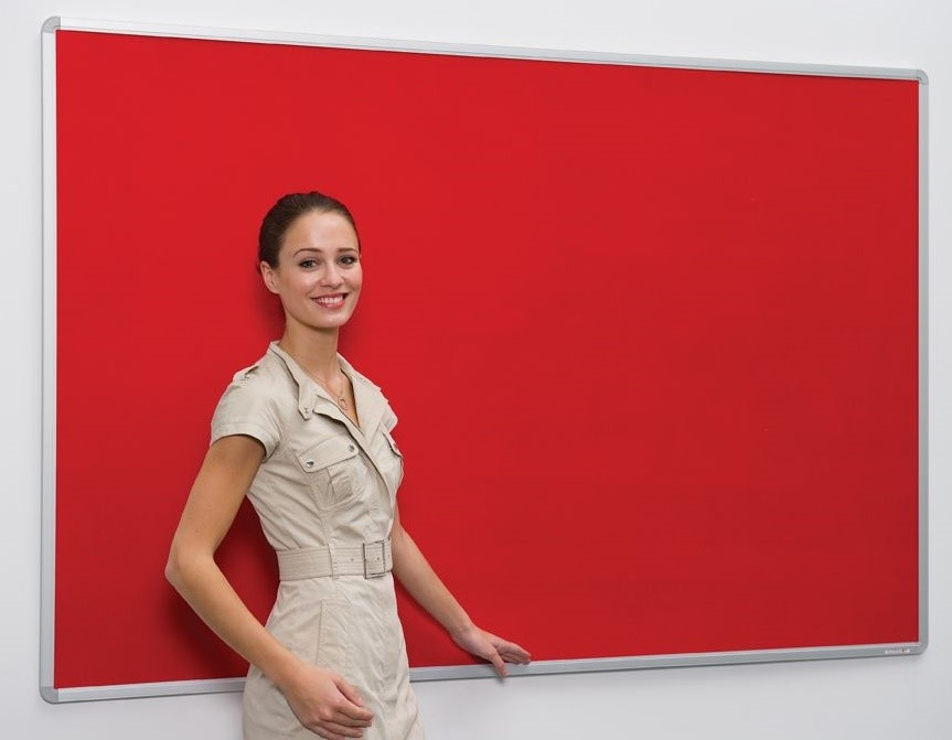 An image of Firecover Framed Noticeboard - Fire Retardant Noticeboards