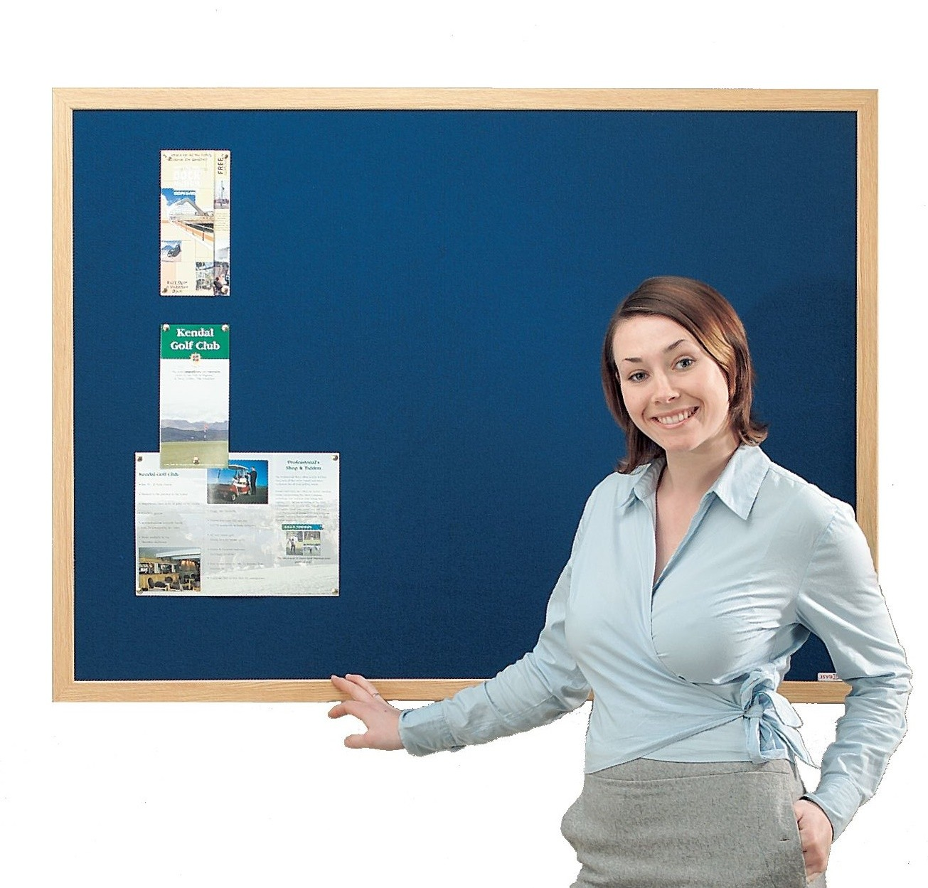 An image of Eco Wooden Frame Noticeboards - Eco Noticeboards