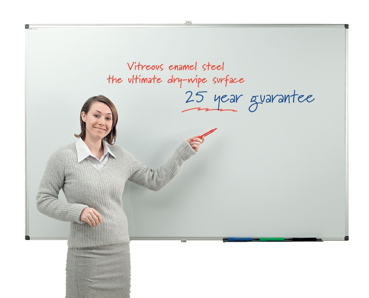 An image of Busyboard VES Magnetic Whiteboard - Whiteboards