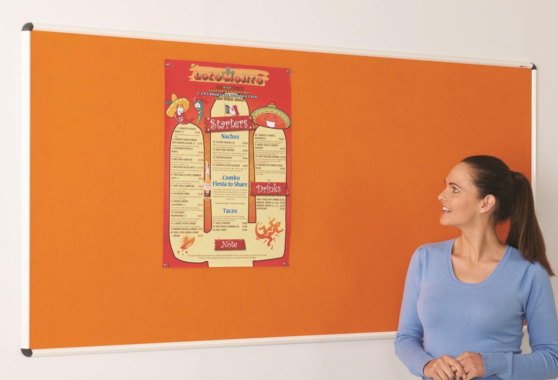 An image of Colourway Noticeboards - Indoor Noticeboards