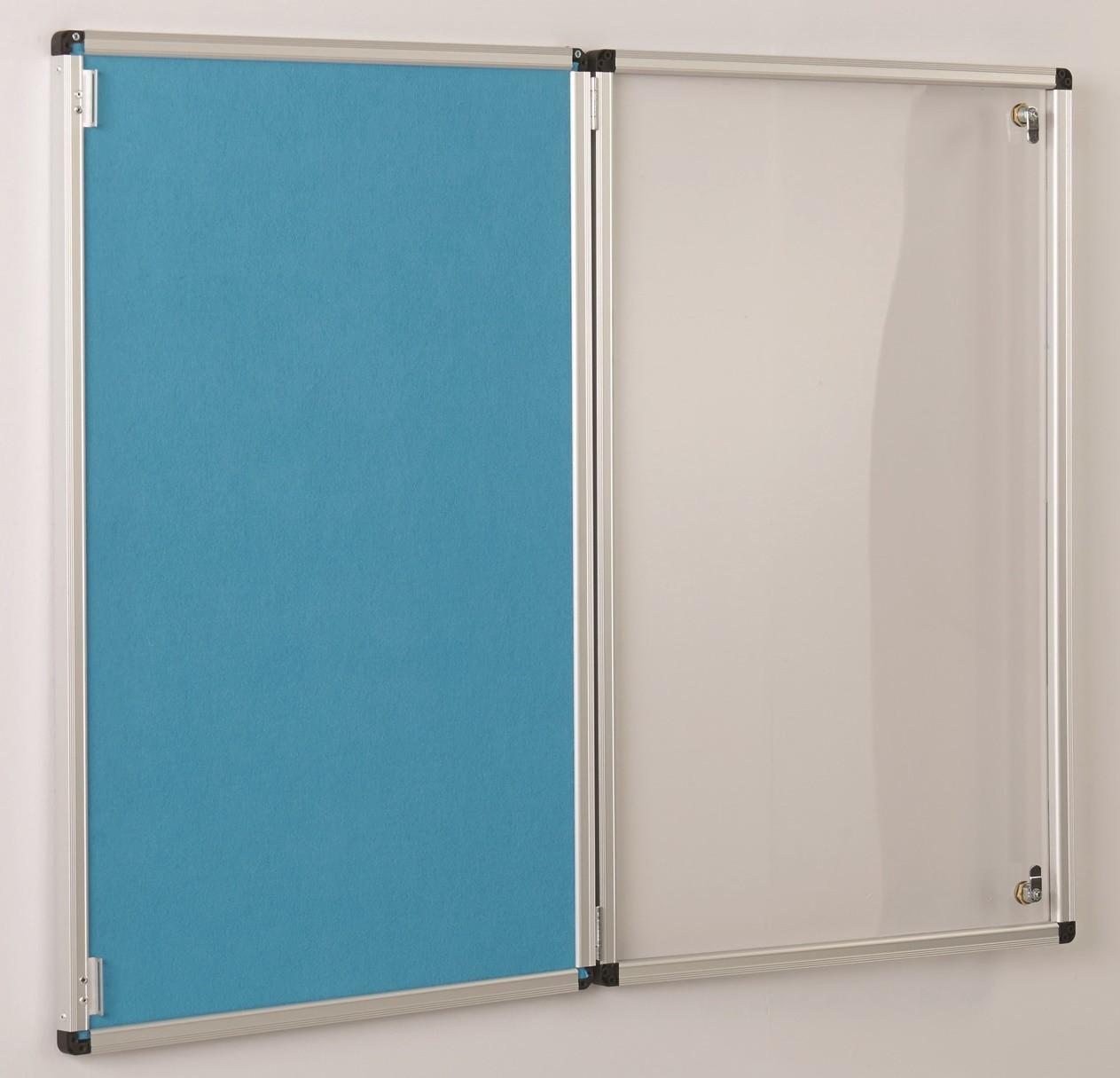 An image of Colourway Tamperproof Noticeboards - Lockable Noticeboards
