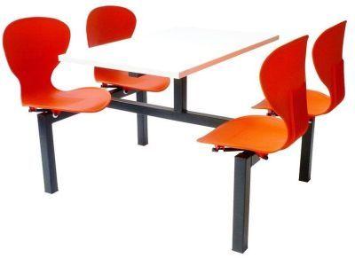 Four Seater Orange Dining Unit