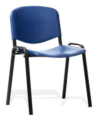 Club Poly Chair In Blue