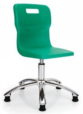 Titan Poly Swivel Chair In Green