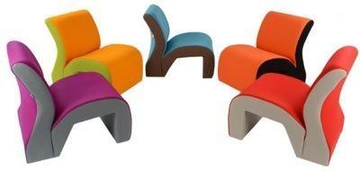 Vavoo Modular Seating In Two Tone Design Wide View
