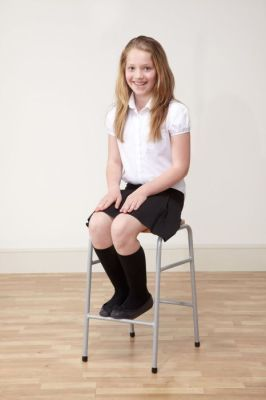 Series 25 Stacking High Stool With Student