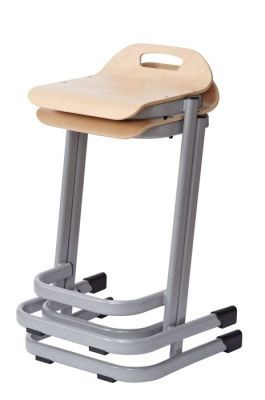 35 Series High Stools Stack Angled View