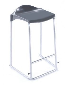 WSM Laboratory Stool Side Angle