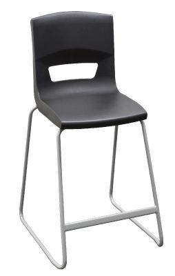 Postura Plus Classroom High Stool In Black