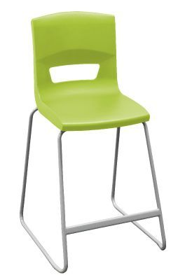 Postura Plus Classroom High Stool Lime Green