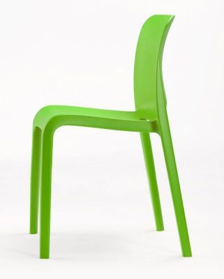 POP Lime Green Reinforced Chair