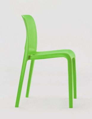POP Lime Green Cafeteria Chair