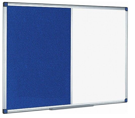 An image of Combination Whiteboard & Noticeboard - Whiteboards