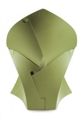 Flux Junior Green Chair Rear View