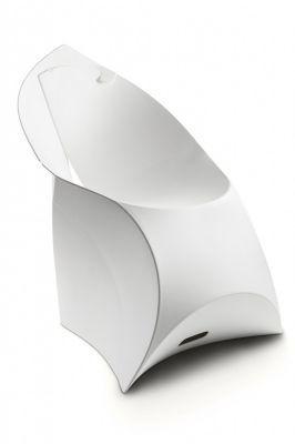 Flux Folding Plastic Chair In White