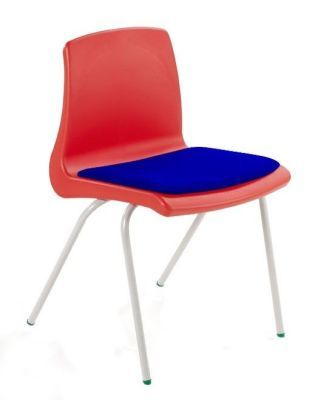 Nemus Poly Classroom Chair With A Seat Pad