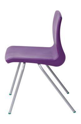 Nemus Purple Classroom Chair Side View