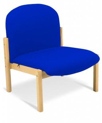 Harlequin Low Chair Blue Fabric
