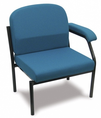 Samson Heavy Duty Low Chair With A Single Arm