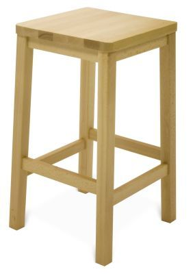 Solid Beech School High Stools