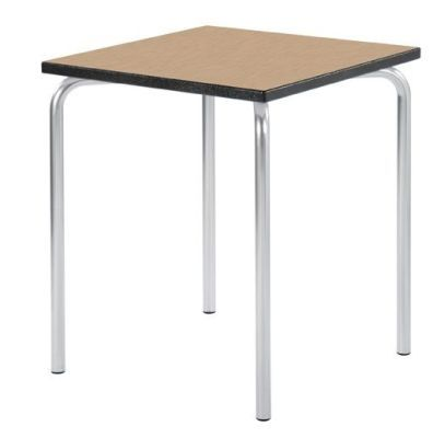 Equation Square Classroom Table With An Oak Top