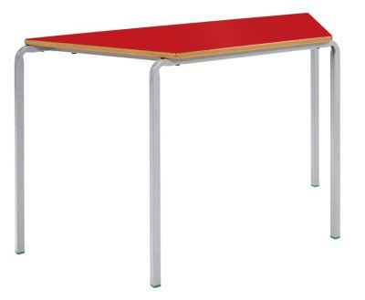 Ms Crush Bent Trapexzoidal Classroom Table