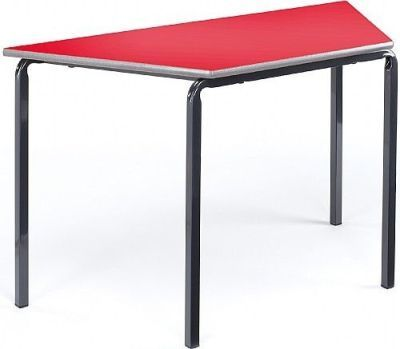 Adv Crush Bent Trapezoidal Classroom Tables