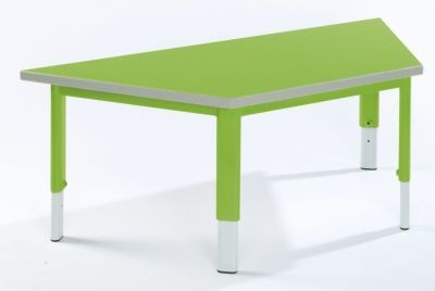 Start Right Height Adjustable Trapzoidal Table