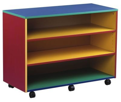 Colourful Mobile Colour My World Open Storage Unit