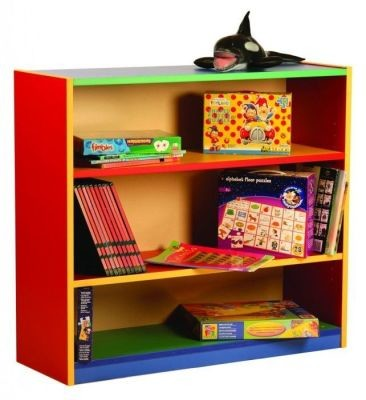 An image of Colour My World Bookcases - Coloured Storage