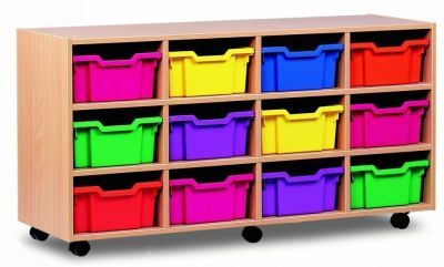Colourful All Sorts 12 Deep Tray Unit