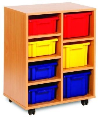 Budget Classroom Tray Storage 4 Shallow And 3 Deep