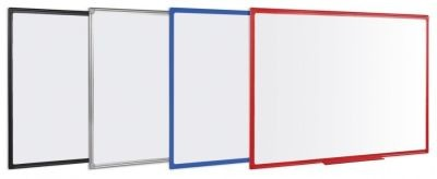 An image of Pricebuster Whiteboards with Coloured Frames - Whiteboards