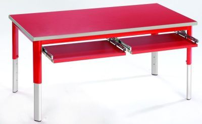 Start Right Height Adjustable Classroom Table With Drawers