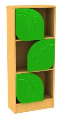 Tall Leaf Bookcase