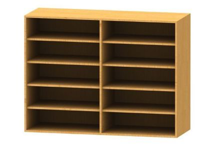 Wall Mounted Bookcase 1