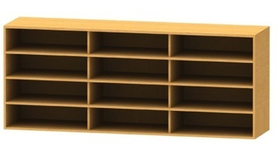 Wall Mounted Bookcase 3