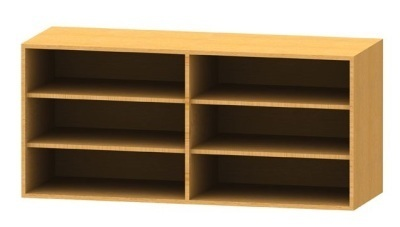 Wall Mounted Bookcase 5