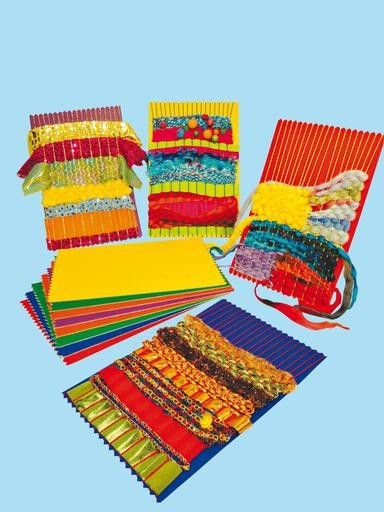An image of Rainbow Weaving Cards