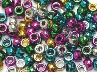 Metallic Beads Compressed