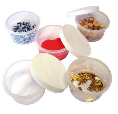 Mini Plastic Pots With Lids Compressed